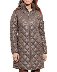 Ralph Lauren Packable Quilted Down Jacket Clay