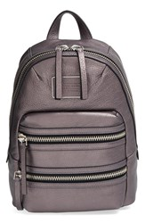 Marc By Marc Jacobs 'Domo Biker' Metallic Leather Backpack