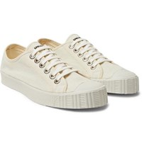 Spalwart Special Cap Toe Linen Canvas Sneakers Cream