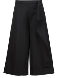 Alexandre Plokhov Draped Side Culottes Black