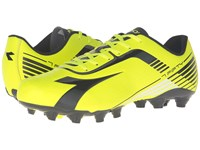Diadora 7Fifty Mg 14 Yellow Fluo Dd Black Men's Soccer Shoes