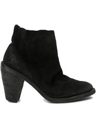 Guidi Tapered Heel Ankle Boots Black