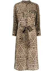 Veronica Beard Leopard Print Dress 60