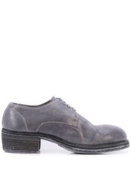 Guidi Lace Up Shoes Grey