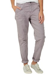 Fat Face Seamed Worker Trousers Dusty Lilac