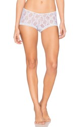 Only Hearts Club Stretch Lace Ruched Back Hipster Blue