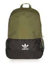Adidas Colourblock Backpack By Originals Olive