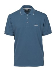 Jeep Athletic Polo Blue