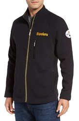 Tommy Bahama Men's 'Nfl Blindside' Knit Zip Jacket Steelers