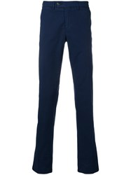 Canali Slim Fit Chinos Blue