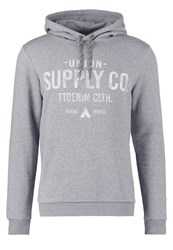 Tom Tailor Denim Hoodie Heather Grey Melange Mottled Light Grey
