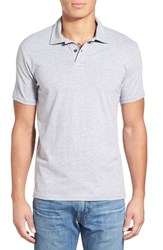 Men's Quiksilver 'Sun Cruise' Jersey Polo Light Heather