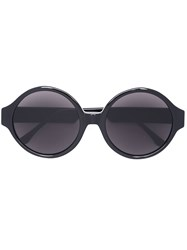 Vera Wang Oversized Round Sunglasses Black