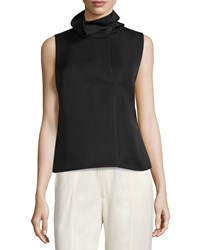 Opening Ceremony Oris Funnel Neck Sleeveless Top Black Women's Size 2