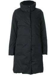 Woolrich Padded Coat Women Cotton Feather Down Polyamide Xl Black