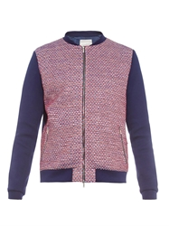 Richard Nicoll Tweed Front Bomber Jacket