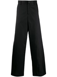 Valentino Wide Leg Trousers Black