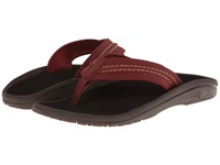 Olukai Hokua Red Earth Dark Java Men's Sandals Purple