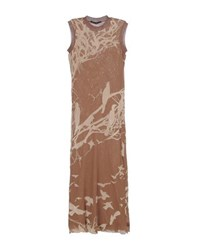 Martine Sitbon Dresses Long Dresses Women Khaki