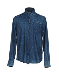 Gas Jeans Shirts Blue