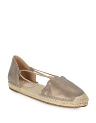 Eileen Fisher Lee Leather Espadrilles