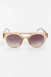 Komono Dreyfuss Round Sunglasses Brown