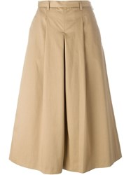 Ymc Cropped Culottes Nude And Neutrals