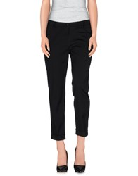 Pianurastudio Trousers Casual Trousers Women Black