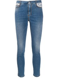 Ermanno Scervino High Rise Cropped Jeans 60