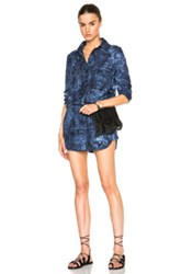 Thakoon Romper In Blue Ombre And Tie Dye