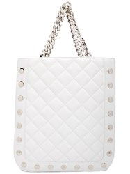 Thomas Wylde Quilted Tote White