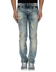 Tom Rebl Denim Denim Trousers Men Blue