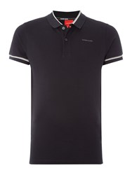 Bjorn Borg Sand Short Sleeve Polo Black