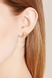 Forever 21 Floral Ear Cuff Stud Set