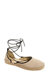 Women's Free People 'Marina' Espadrille Sandal Natural Suede