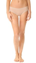 Natori Bliss Cotton Girl Briefs Cafe