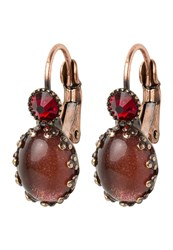 Konplott Melody Earrings Red Bordeaux