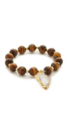 Elise M Allegra Bracelet Tiger Eye