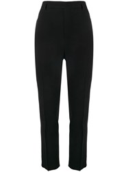Rick Owens Cropped Tailored Trousers Black