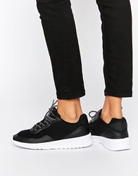 Pull And Bear Black Trainer Black