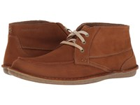 Hush Puppies Alby Roll Flex Tan Nubuck Men's Lace Up Casual Shoes