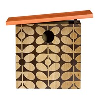 Orla Kiely Sixties Stem Wooden Bird House