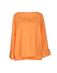 Rossopuro Shirts Shirts Women Orange