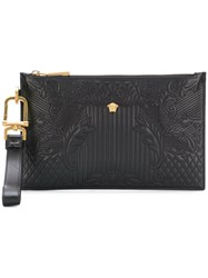 Versace Medusa Clutch Black