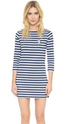 Zoe Karssen Ok Striped Dress Optic White