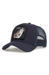 Goorin Bros. Men's Brothers Animal Farm Wolf Trucker Hat