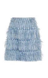 Alice Mccall Young At Heart Feather Skirt Blue