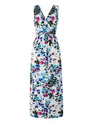 Grace Made In Britain Floral Maxi White