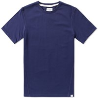 Norse Projects James Dry Cotton Tee Blue