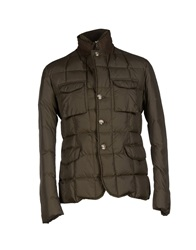 Manuel Ritz White Jackets Military Green